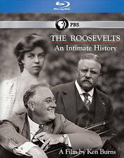 Ken Burns: The Roosevelts - An Intimate History (Blu-ray Disc, 2014, 7-Disc Set)