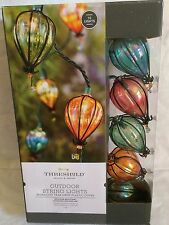 NEW 10 IRIDESCENT TEAR DROP RV IN/OUTDOOR PATIO PORCH CAMPER STRING LIGHTS