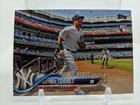 GLEYBER TORRES 2018 Topps Update #US191 RC Debut New York Yankees Rookie