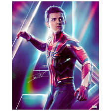 Tom Holland Autographed Avengers: Infinity War Spider-Man 16x20 Photo