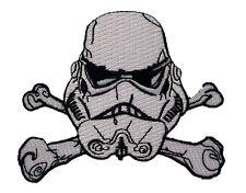 Star Wars - StormTrooper Crossed Bones Logo - Patch Uniform Aufnäher