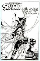 Spawn #301 (2019) IMAGE COMICS Black & White McFarlane Variant Cover I