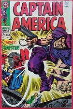 CAPTAIN AMERICA 108 Marvel Silver Age 1968 the Trapster Jack Kirby Art vf