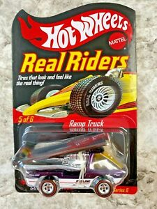 Hot Wheels Redline RLC Ramp Truck Purple White Series 6 Adult Collected Toy Car