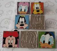 Character Faces Collection 2012 Hidden Mickey Set DLR Choose a Disney Pin