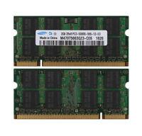 Samsung 4GB 2X2GB PC2-5300 DDR2 667Mhz Memory Mid 2007 Macbook Pro iMac Mac Mini