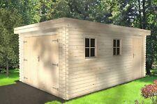 Agande Holzgarage Blockhaus Garage Autogarage Holz 510x330, 28mm 2839210
