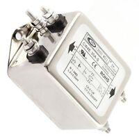 1PCS 30A CW4E-30A-S Noise Suppressor Power EMI Filter AC 115/250V