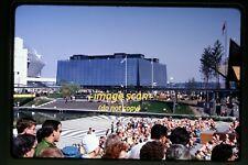 1967 Montreal, Canada, Expo 67, Crowds of People, Original Slide b30b