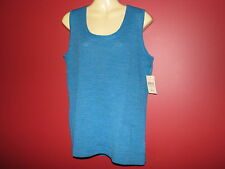 COLDWATER CREEK Women's Softspun Merino Mix Sweater Tank - Size L (14) - NWT