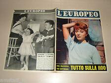 EUROPEO=1957/32=MARIE HELENE ARNAUD=SHIRLEY TEMPLE=FIAT 1100=BOMARZO=ISCHIA=