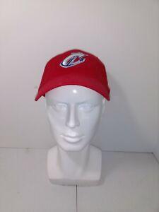 Columbus Clippers Minor League Baseball Team Logo Adjustable Hat Men's Red
