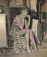 "ACTRESS NITA TALBOT ""HOGANS HEROES"" RUSSIAN SPY LEGGY PHOTO A-NTAL"