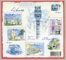 Feuillet F4402 - Capitales européennes - Lisbonne - 2009