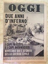 OGGI settimanale di attualità - n°16 19 aprile 1962 Raffaele Cadorna