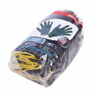 10 Pairs of Honeywell Workeasy Black PU Safety Work Gloves - size 6 to 11