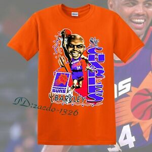 Charles Barkley Phoenix Basketball Caricature Unisex Short Sleeve T-Shirt