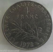 1 franc semeuse 1972 : TB : pièce de monnaie française