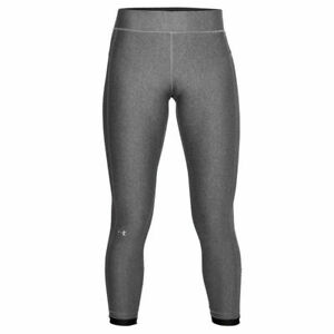 Under Armour NWT Size Medium UA HeatGear Ankle Crop Sports Running Leggings Gray