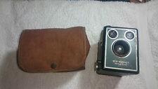 Kodak Brownie SIX-20 Model C 620 Film Box Camera & Case