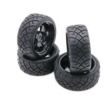 4Pcs 5 spoke On-Road Tires Rim Wheel Fit Buggy For Rc 1/10 Car Hsp Traxxas Hpi