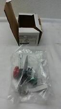 """NEW! DynaLock 6230 Palm Switch 1 5/8"""" round red plastic momentary button"""