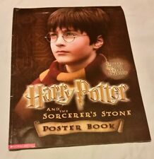 HARRY POTTER AND THE SORCERER'S STONE POSTER BOOK (15 POSTER) BY SCHOLASTIC 2001