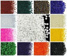 CHOOSE COLOR! 20g 9/0 (2.6mm) Seed Beads Rocailles Preciosa Ornela Czech Glass