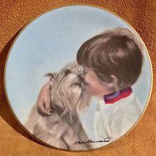 Friday's Child Leon Barnard Collectors Plate Dave Grossman Designs 1980