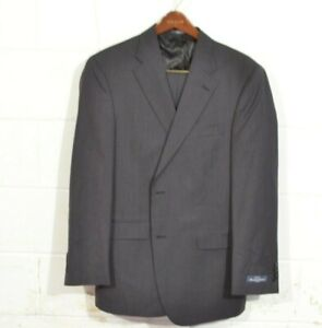 NEW Austin Reed 44R 36 Navy Blue Stripe Fairfield 2 Button USA Recent Wool Suit