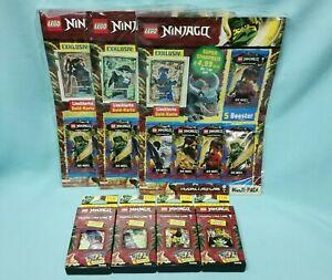 Lego® Ninjago™ Serie 6 Die Insel Trading Card alle 4 Blister + alle 3 Multipack