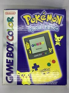 Gameboy Color Pokemon Special Edition Brand New