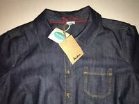 BNWT Boden Ladies Size UK 12 Denim Shirt