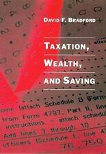 Taxation, Wealth and Saving