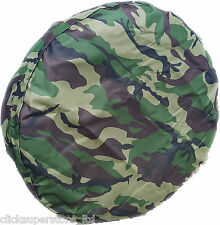 Army Camouflage Tire Tyre Cover 4x4 Wheel Cover Camo Fits Honda Mitsubishi + ALL