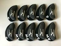 10PCS Golf Iron Covers RH for Mizuno Club Headcovers 4-LW Gray Red Universal
