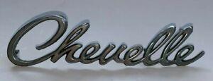 Vintage Original, CHEVROLET CHEVELLE, Metal Emblem (1960-70's)