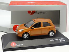 J Collection 1/43 - Nissan Micra 2010 Orange