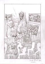 DAVIDE FURNO' - Tavola originale Cover Greek Street # 16
