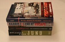 WW2 - Set of Five Canadian WW2 Books Inc. Breakout From Juno & Dieppe