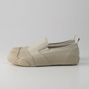 Moonstar Fine Vulcanized Shoes ALW SLIP-ON BEIGE Kurume Japan