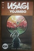 Usagi Yojimbo Wanderer' Road 1 IDW 2020 NYCC Exclusive Peach Momoko Variant