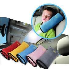 Kids Car Safety Seat Belt Pillow Strap Soft Shoulder Pad Headrest Shoulder JA
