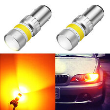 Alla Lighting LED 2357 1157 Yellow Turn Signal Super Bright Blinker Bulb Lamp