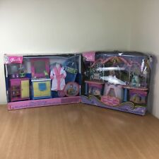 Barbie Decor Collection Bathroom & The Princess and Pauper Wedding & Vanity Set