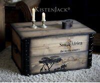 Mystic Africa ::Truhe Couchtisch  Frachtkiste LOFT Design Vintage
