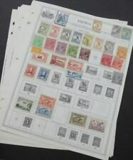 EDW1949SELL : AUSTRALIA Interesting Mint & Used collection on album pages.