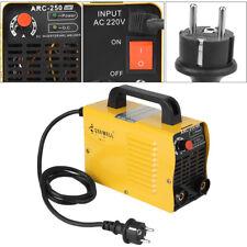 ARC-250 160A 110V/220V 2P Welder Inverter Cutter MAG Mini Welding Machine Yellow