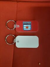 (1) New Chicago Red Stars NWSL National Women's Soccer League keychain