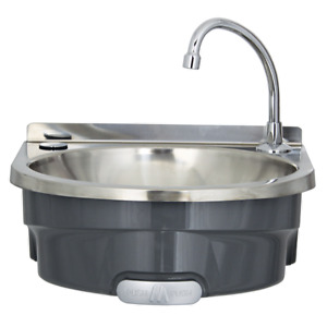 Mechline BSX-400-KVS Knee Operated Wash Basin with Manual Mixer (BOXED NEW)
